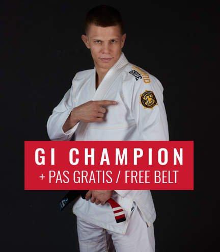 "Kimono GI BJJ  Ground Game  ""Champion 2.0"" (Bílé) + pásek ZDARMA"