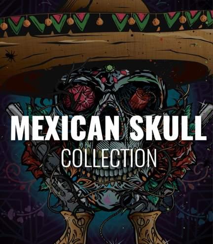 "Kolekce ""Mexican Skull"""