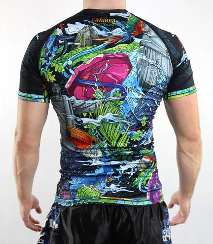 "Rashguard Ground Game ""Carioca"""