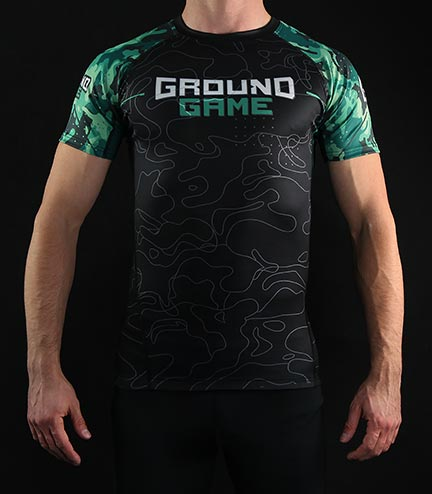"Rashguard Ground Game ""Moro 2.0"""