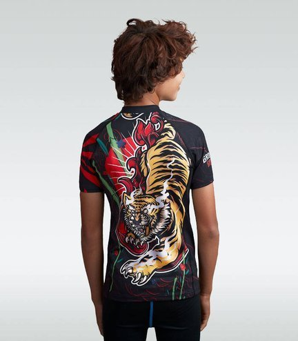 "Rashguard ""Red Tiger Kids"""