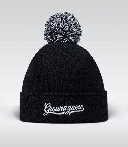 """Zimní čepice Ground Game """"Vinted"""" černá"""