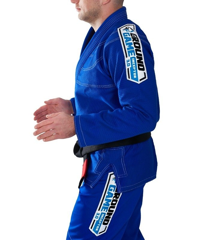 "Kimono Gi BJJ Ground Game  ""Inceptor 3.0"" (Modré)"