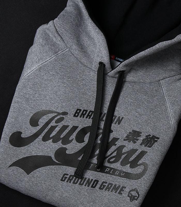 "Pánská mikina s kapucí Ground Game  ""Jiu Jitsu"""