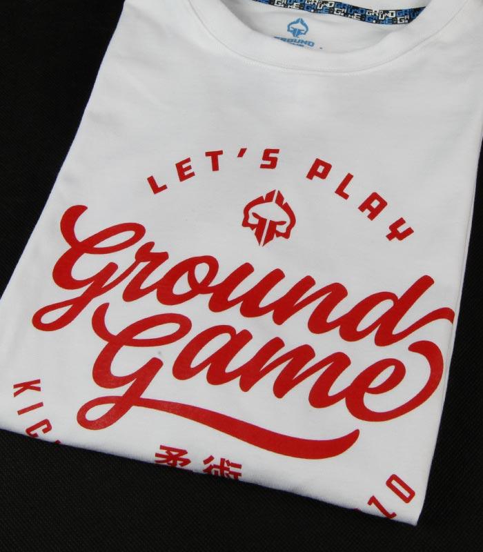 "Pánské tričko Ground Game ""Gamester""bílá"