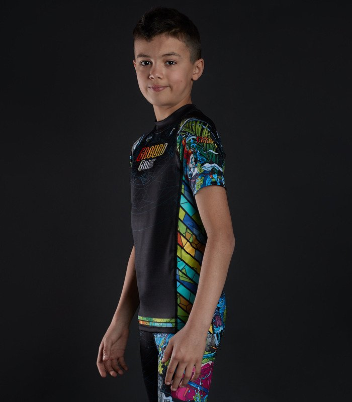 "Rashguard  Ground Game ""Carioca Kids"""