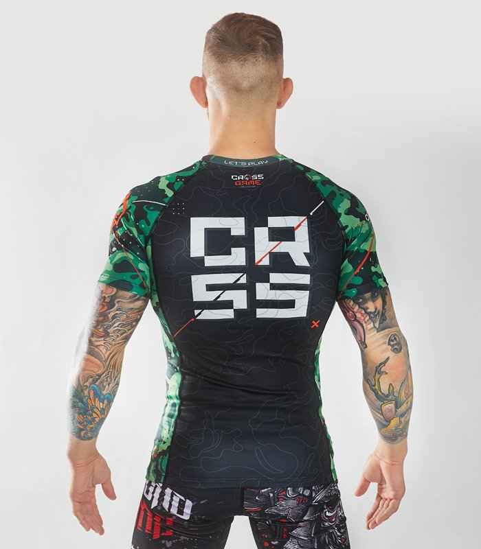 "Rashguard Ground Game ""Maskáčová"""