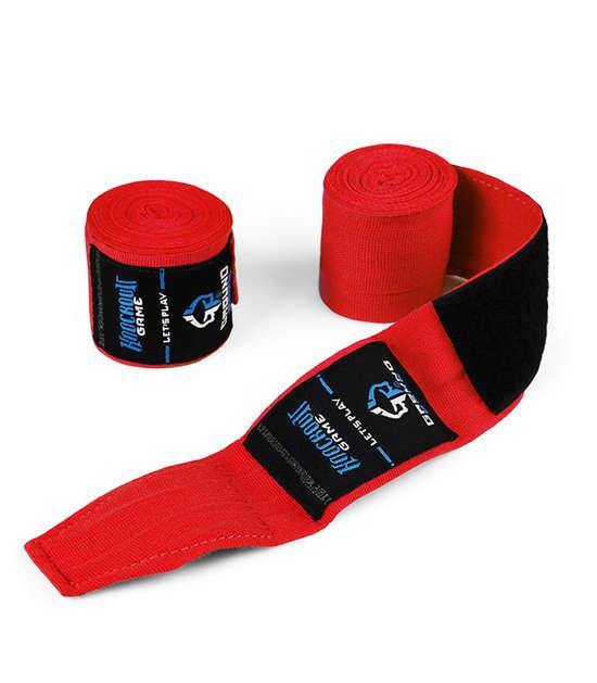 """Boxerské bandáže  Ground Game """"Classic"""" červené"""