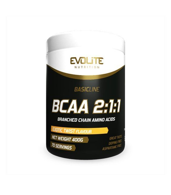 Evolite BCAA 2:1:1 400g, Exotic Twist