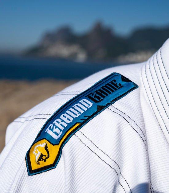"""Gi BJJ  Ground Game """"Carioca"""" (Bílé)"""
