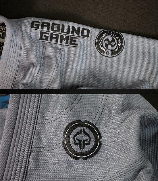 "Kimono Gi BJJ Ground Game  ""Balance 3 Shadow"" (Šedá)"