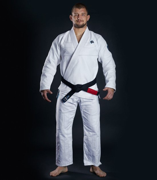 "Kimono Gi BJJ Ground Game ""Player"" (Bílé)"