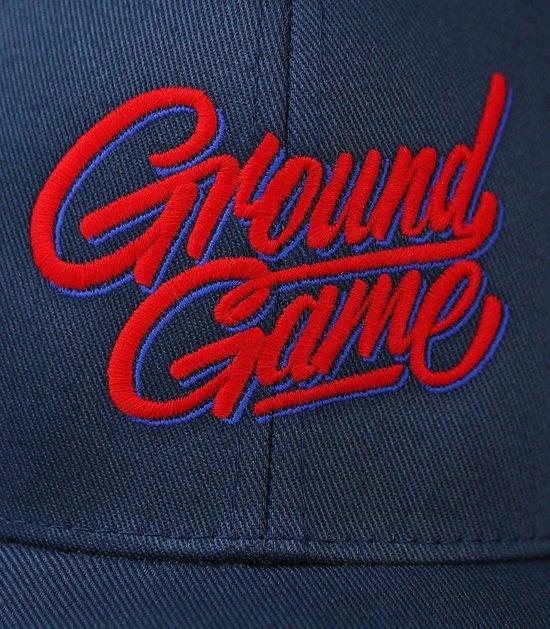 """Kšiltovka Ground Game """"Tag"""" Tmavě modrá"""