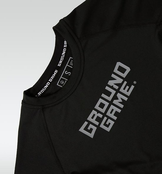 "Rashguard Ground Game ""Athletic Shadow"" krátky rukáv"