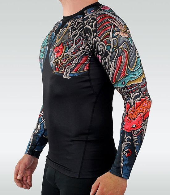 "Rashguard Ground Game ""Bushido"" 3.0 (Černý)"
