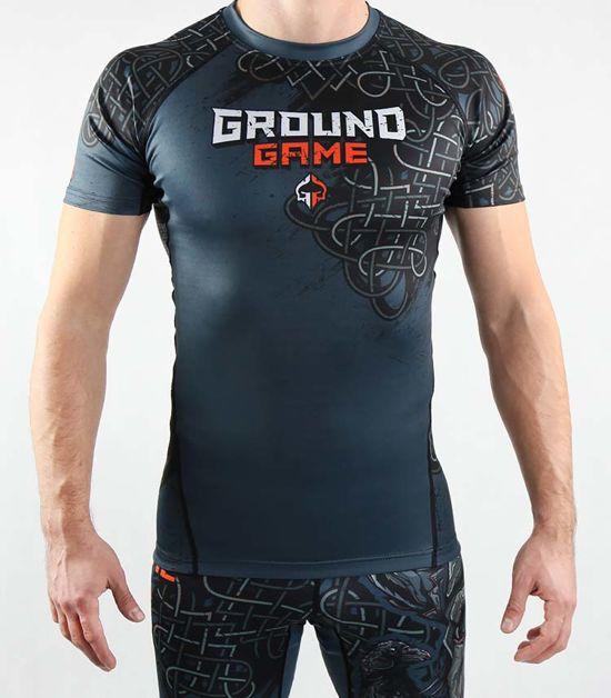 "Rashguard Ground Game ""Odin"" krátky rukáv"