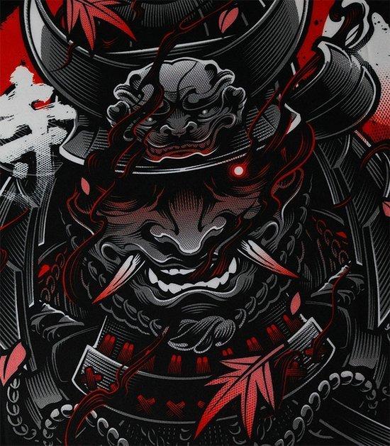 "Rashguard Ground Game ""Samurai"" 2.0"