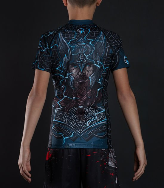 "Rashguard  Ground Game ""Thor Kids"""