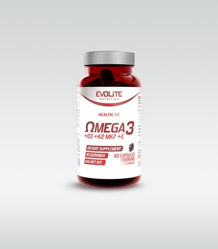 Evolite Omega 3 + D3 + K2 MK7 + E 60 caps