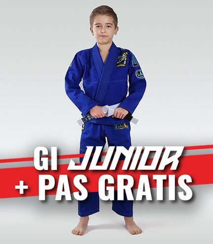 """Junior 3.0"" BJJ Kids GI (Blue) + FREE Belt"