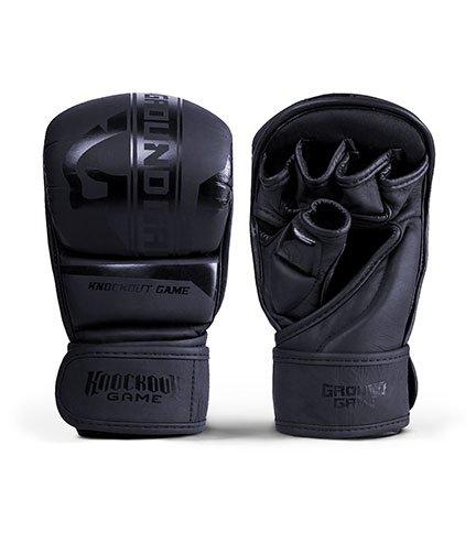 "MMA Sparing Gloves ""Stripe Black"""
