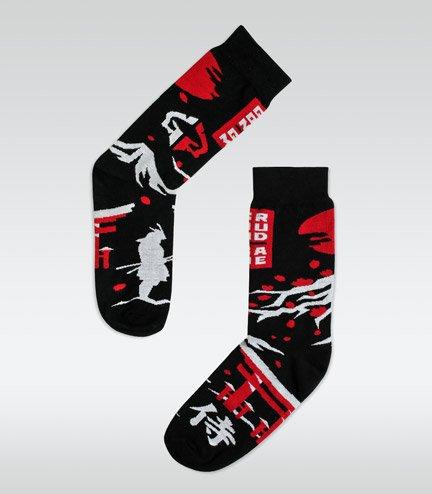 "Socks ""Japan"" Black"