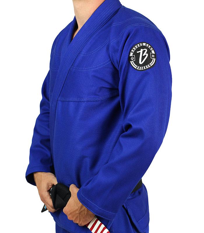 "BJJ GI Jacket ""Breaker"" Blue"