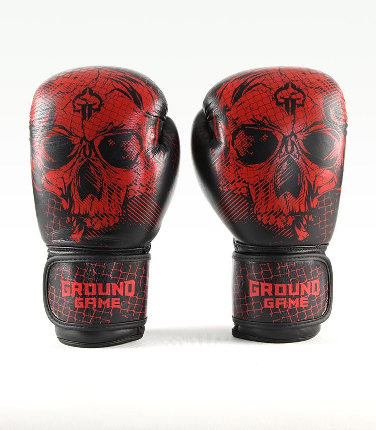 """Boxing Gloves PRO """"Red Skull"""" 14 oz"""