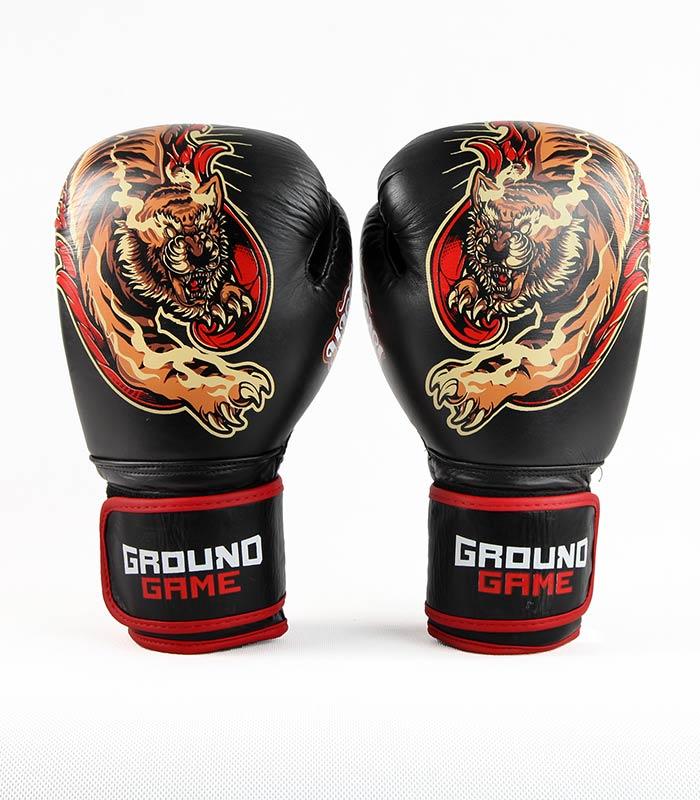 "Boxing Gloves PRO ""Red Tiger"" 10 oz"