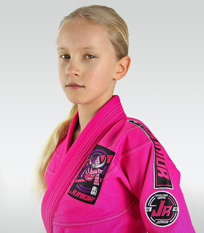 """Junior 3.0"" BJJ Kids GI (Pink) + FREE Belt"