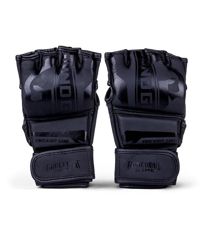 """MMA Gloves """"Stripe Black"""""""