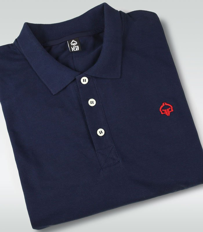 """Minimal"" Polo Navy Blue"