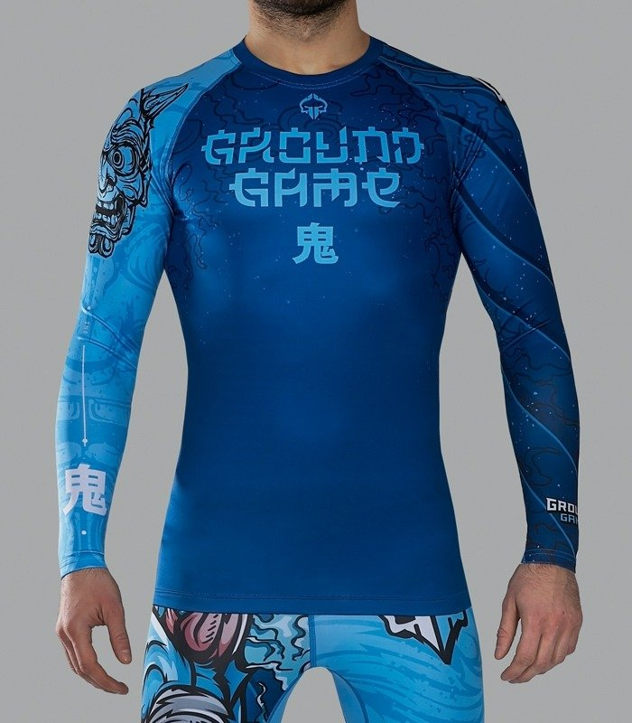 "Rashguard ""Oni"" long sleeve"