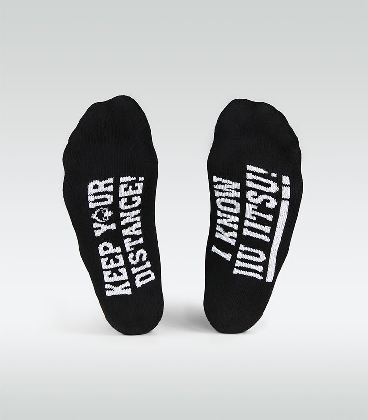 "Socks ""I know Jiu Jitsu"" (Black)"