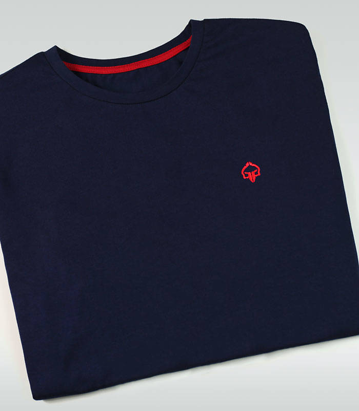 "T-shirt ""Minimal 2.0"" Navy Blue"