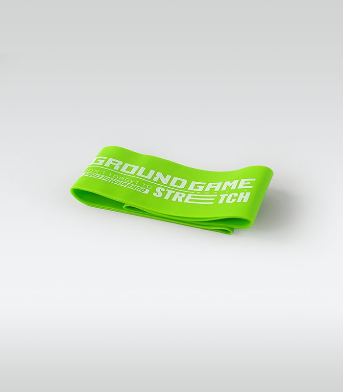 Training / resistance Mini Band (Green, 0.8 mm, 11-18 kg)