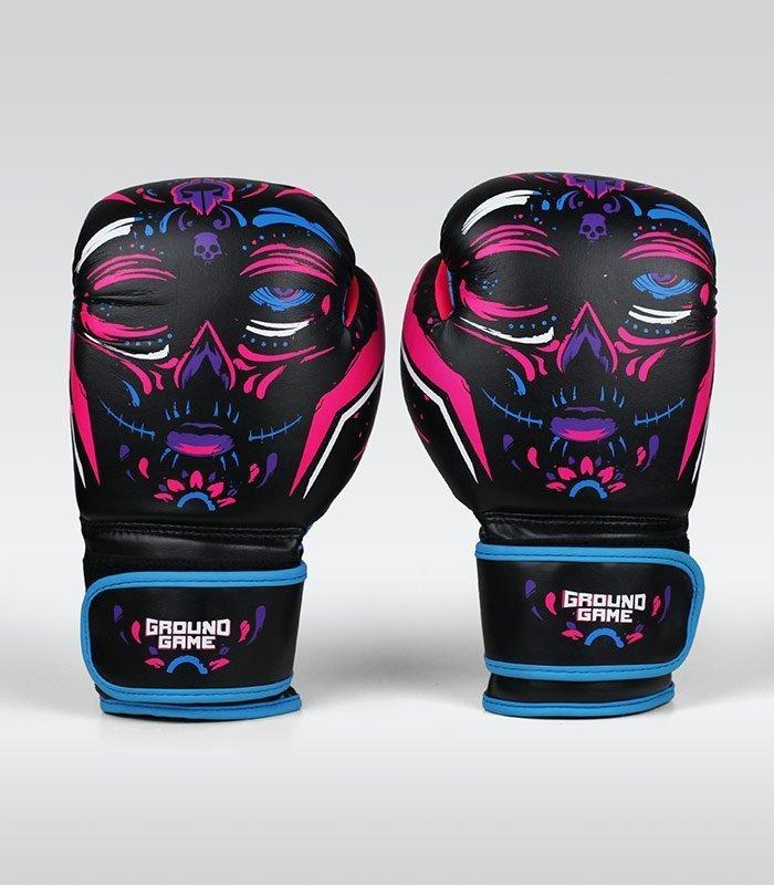 "Women's Boxing Gloves ""La Muerta"" 10 oz"