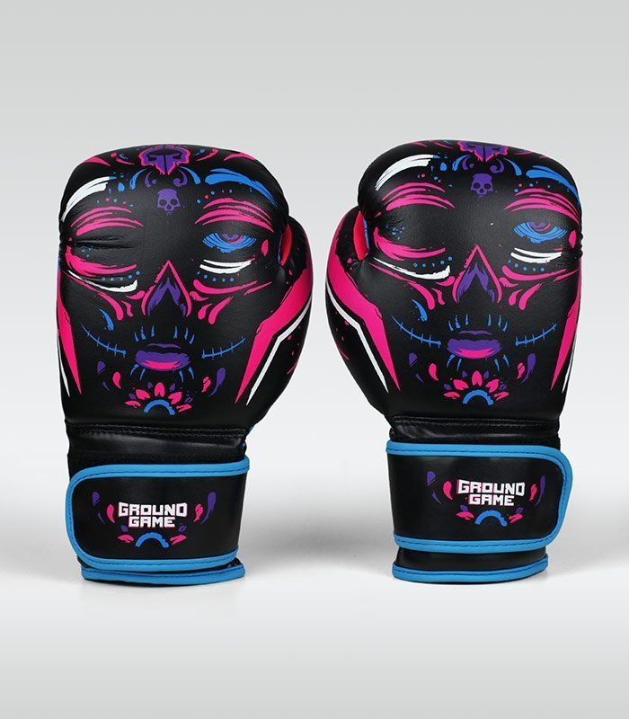 "Women's Boxing Gloves ""La Muerta"" 14 oz"