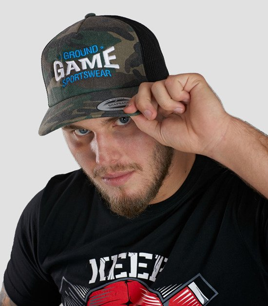 """Cap """"Moro Game"""" with a rounded brim"""