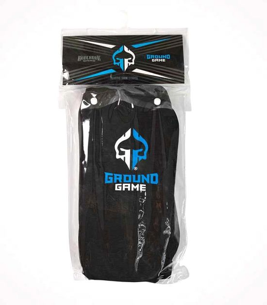 "Elastic Shin Guards ""Knockout Game"""