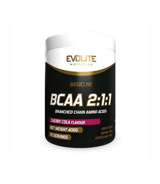 Evolite BCAA 2:1:1 400g, Cherry Cola