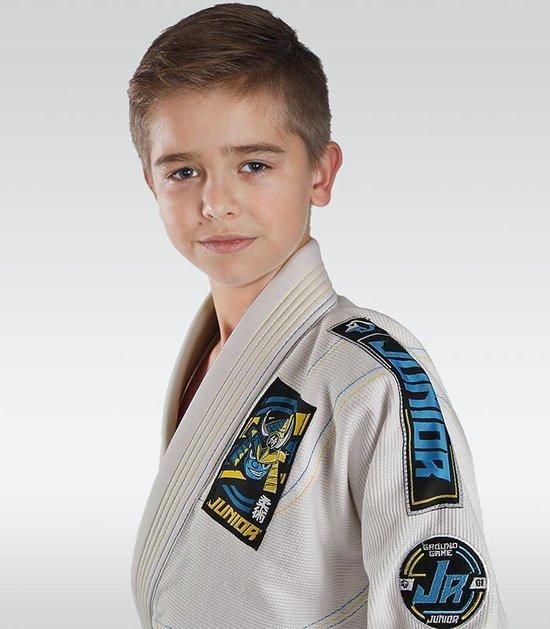 """Junior 3.0"" BJJ Kids GI (White) + FREE Belt"
