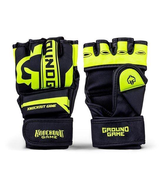 """MMA Gloves """"Stripe Neon"""""""