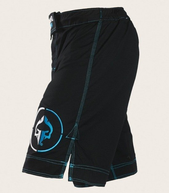 "MMA Shorts ""Athletic"" Ripstop (Black)"