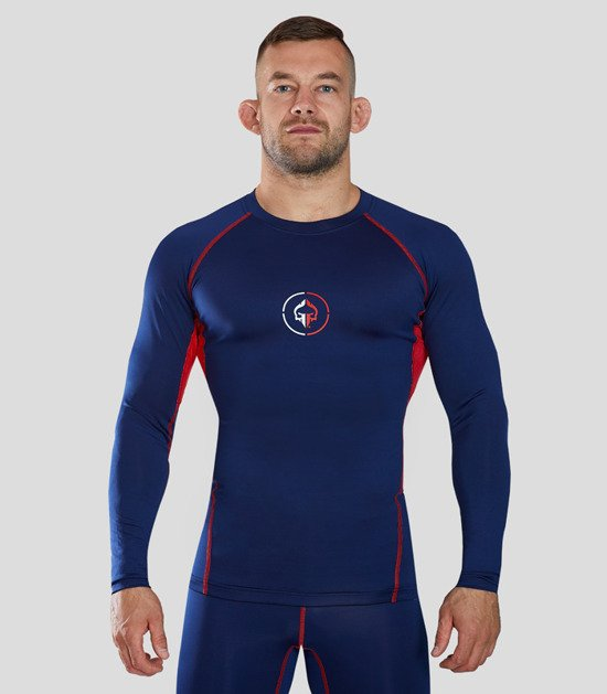 "Rashguard ""Athletic 2.0"" long sleeve (Navy blue)"