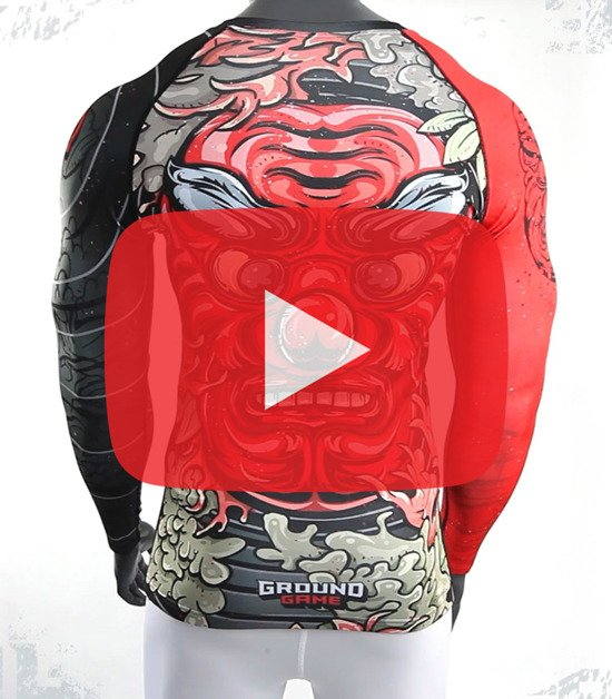 "Rashguard ""Tengu"" long sleeve"