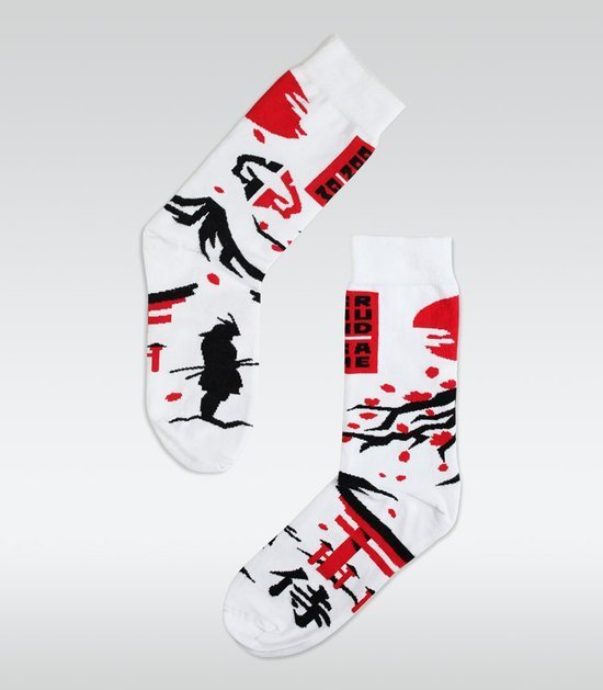 "Socks ""Japan"" White"