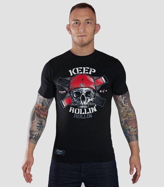 "T-shirt ""Keep Rollin"""