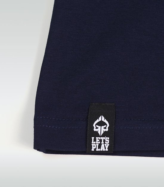 "T-shirt ""Roll Hard"" Navy Blue"
