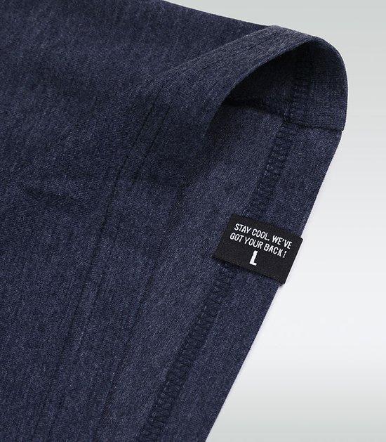 """T-shirt """"Select"""" Navy Blue Melange"""